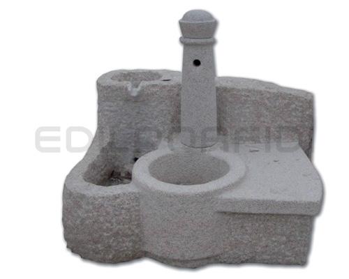Fontane da giardino in pietra in granito e pietra di trani - Fontane da giardino in pietra ...