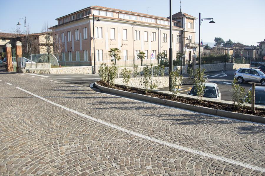 Pavimentazione in porfido trentino