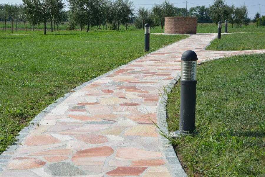 Pavimentazione esterna in pietra