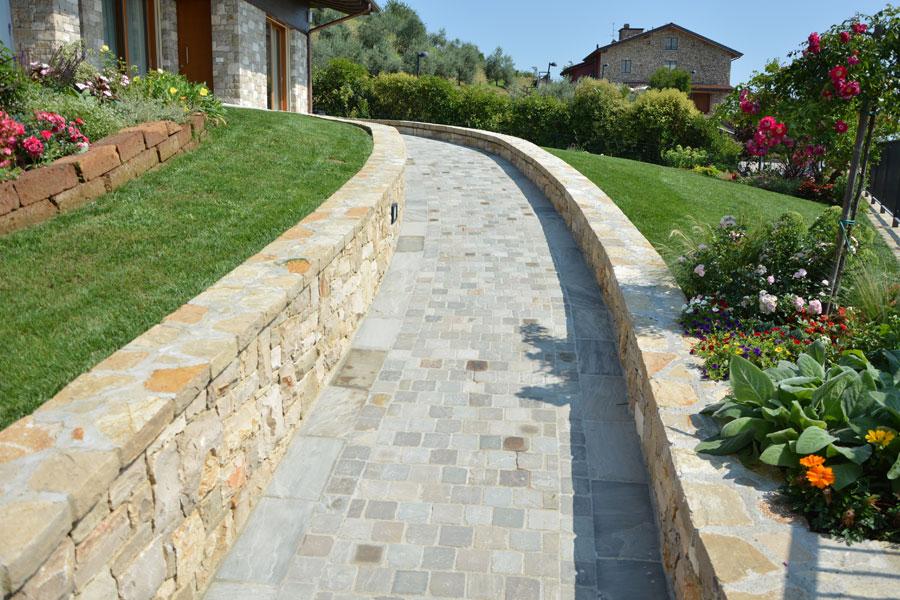 Pavimento in pietra naturale per esterno pavimento esterno in