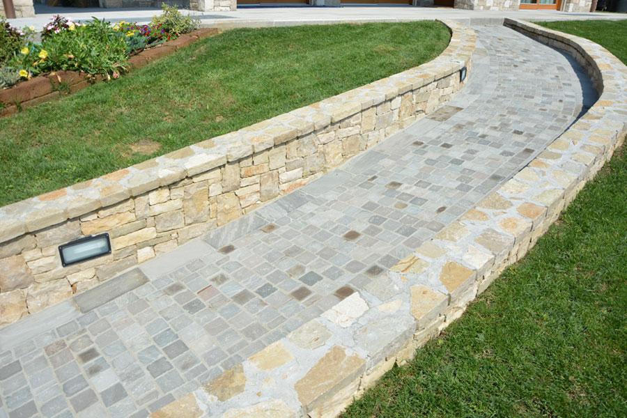 Pavimento esterno pietra naturale4 edilporfidi - Pavimento pietra esterno ...