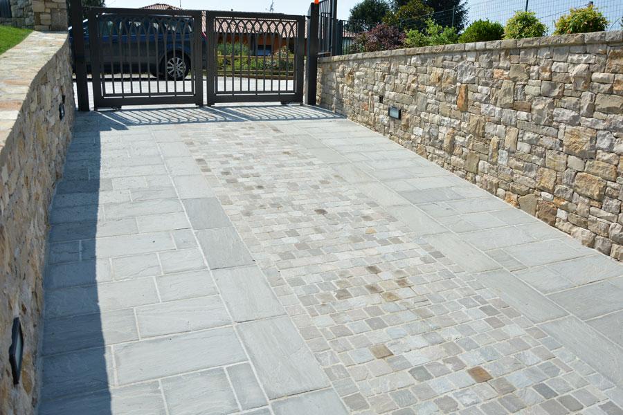 Pavimento esterno pietra naturale6 edilporfidi - Pavimento pietra esterno ...